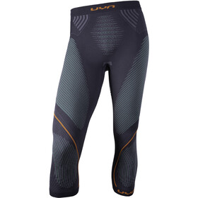 UYN Evolutyon UW Medium Pants Men charcoal/green/orange shiny